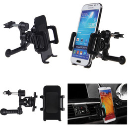 New 360 Car Air Vent Mount Cradle Holder Stand for Mobile Smart Cell Phone GPS+Free Drop Shipping