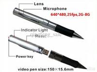 4G   Real Built-in 4GB USB Spy Pen Camera Hidden Digital video recorder pen camera