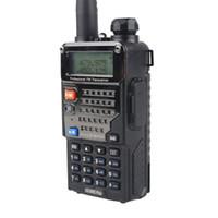 best uhf radio - Best seller Dual Display BAOFENG Dual Band UV RE Plus W CH UHF VHF MHz MHz VOX Portable Radio A0850P