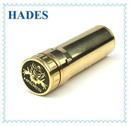 Wholesale NEW Hades Clone Mechanical mods SS Stingray mod clone stainless steel Panzer mod body gold clone Hades tube battery mod DHL
