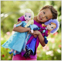 Unisex china toys - 2015 frozen dolls cm inch elsa anna toy doll action figures plush toy frozen dolls