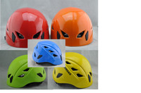 climbing wall - outdoor Sports hiking helmet rock climbing mountaineering caving multi purpose safety helmet rappelling rescue equipment Outdoor Gear