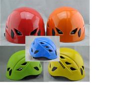 Al aire libre deportes escalada casco escalada alpinismo cueva casco de seguridad multiusos rappel equipo de rescate Equipos al aire libre
