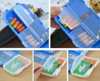 Cheap Factory Price Folca Pill Portable Plastic Cases & Splitters Medicine Storage Boxes Pill Box Tablet Case Jewelry Case Organizer K07755