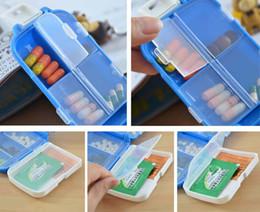 Цена завода Folca Pill портативный пластиковый корпус & Разветвители медицины ящики для хранения Pill Box чехол для планшета случай ювелирных изделий организатор K07755
