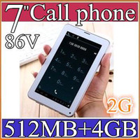 Wholesale SH MID Colorful Inch V A13 G GSM Phone Sim Calling Tablet PC Android GB M RAM Dual Camera Capacitive Screen Wifi PB07