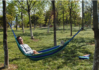 parachute fabric - Portable Outdoor Traveling Camping Parachute Nylon Fabric Hammock For Two Person