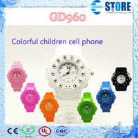 Wholesale GD960 Watch Phone Bluetooth Handsfree GPS Tracker Watch Mobile Phone For Kids with GPS Tracker GPRS SOS Wrist C5 s follow model M
