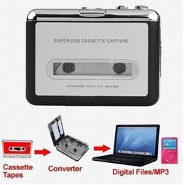 Wholesale USB Cassette Capture Recorder Radio Player Tape to PC Super Portable USB Cassette to MP3 Converter