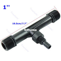 air venturi - Inch Irrigation Device Flowers Venturi Fertilizer Injector Air Fluid Water Tube Ozone Mixer