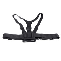 Wholesale Adjustable Elastic Body Chest Harness Strap Mount Belt for Gopro Hero HERO3 Camera Accessory D925