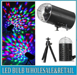 RGB 3W Crystal Magic Ball Laser Stage Lighting For Party Disco DJ Bar Bulb Lighting Show