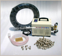 Wholesale nozzle system High powerd outdoor cooling system fog misting system Mist cooling system