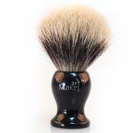 acrylic handle shaving brush - High quality Finest badger hair gentlemen cleansing shaving brush