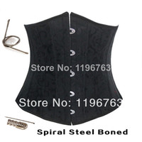 Cheap Wholesale Fashion Sexy Corset Dress 10 Full Steel Boned Corsets Top Women Bustier Waist Training Corselets XS-6XL 4Colors 4079