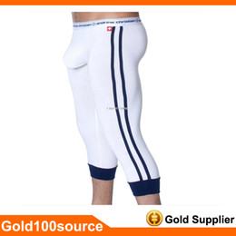 Wholesale Shorts Men Underwear Andrew Christian Men s Thermal Underwear Modal Cotton Long John Pantyhose Pants Warm Pants Sexy Comfortable Trousers