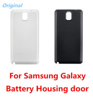 Cheap Battery Case For Samsung Galaxy NOTE 3 N9000 White & Black Color Back Cover Housing door for galaxy note 3 Replacement parts Free Shipping