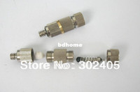 Wholesale High powered With filter Brass fogging nozzle Mist cooling fitting brass nozzle with electroplate