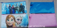 Wholesale 9 off IN STOCK High quality Frozen Anna Elsa latest adventure for children to learn stationery oxford bags drop shipping MC