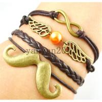 Cheap leather bangle bracelet Best infinity bracelets
