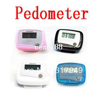 Wholesale Healthy Gift LCD Counter Electronic Digital Pedometer Mini Single Function Step Run Pedom Counter to