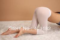 Cheap NZ23 Sexy Hot Men & Women Semi See-through Seamless Tights Shorts Pants Trousers
