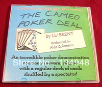 Wholesale Aldo Colombini Lu Brent s Cameo Poker Deal Only The teaching Video send via email no gimmick