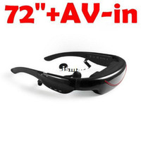 Wholesale Cool digital mobile theatre video glasses inch wide screen mobile theatre with AV jack