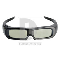 Wholesale New D Active LCD Shutter Glasses Oculos d Projector for D TV projector Cinema System Battery