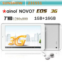 Wholesale New Arrivals Ainol NOVO7 EOS G Tablet Pc inch Bluetooth GB Dual Core Tablets PC