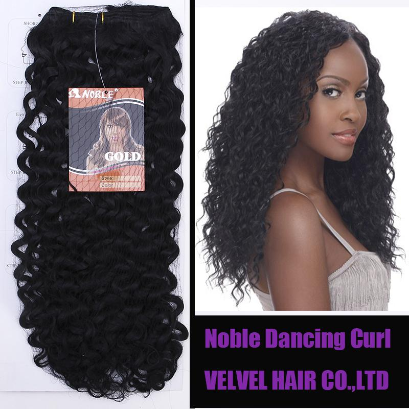 Curly Synthetic Hair Extensions Clip in Extensions Afro Curly Hair