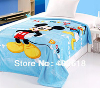 bed sheet and blankets - Mickey and minnie bedding Coral fleece Blanket Size M Cartoon Blanket flat sheet Warm amp Soft