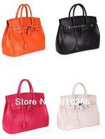 Cheap free shipping 2013 Hot Celebrity Tote Women Leather Handbags PU Fashion Designer Shoulder bag Girl Faux Women Handbag 5037