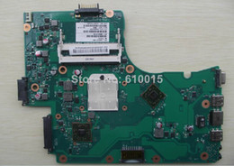 Wholesale Original V000225010 laptop motherboard for Toshiba C655 C655D C650D DDR3 Tested off shipping DHL EMS