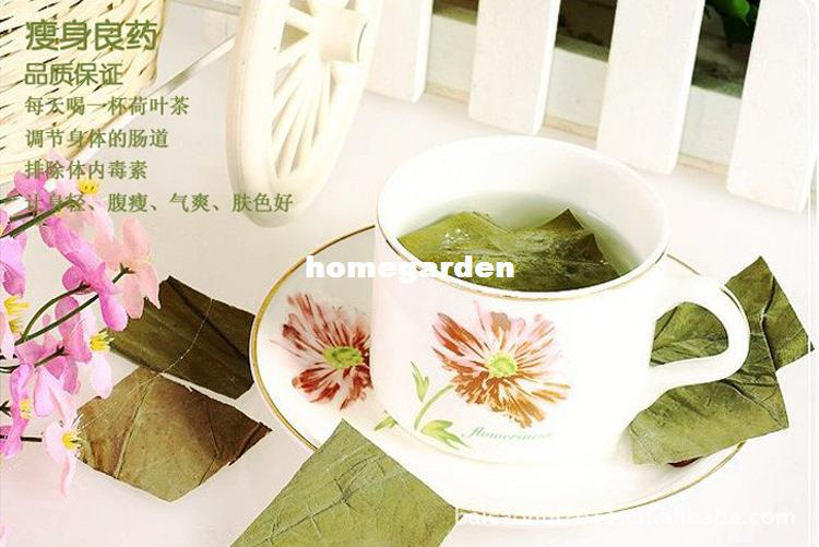 Wholesale-Wholesale Weight Lose Free Shipping Organic Natural Dried Lotus Leaf Herbal Slimming Products Tea T017