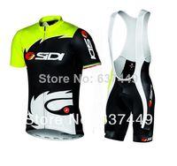 Wholesale New Sidi Pippo Sidi Lampre Cycling Jersey bib Shorts Bicicletas Bike Ropa De Ciclismo Maillot Bike Clothes Set Sportswear