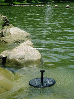 Wholesale Mini Solar fountain pump Water pump system for pool decorative