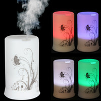 air vibration - 100ML LED Colors Timing Modes Ultrasonic Aroma Vibration Diffuser Air Humidifier Dandelion HOA_338