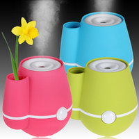 Wholesale Vase Shape ml USB DC V Ultrasonic Perfume Aroma Atomizer Air Humidifier HOA_321