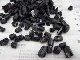 Natural black tourmaline nunatak water purification chakra ore energy stones crystal healing stone wholesale