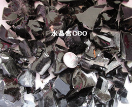 200g natural obsidian crystal ore energy stone gravel stone fish tank purification wholesale