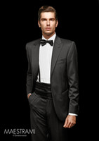 Cheap 2014 Handsome Custom Made Groom Tuxedos,Fashion Formal Wear Wedding Party Groomsman Suit Men's Suit (Jacket+Pants+Tie) Bridegroom Suit 36