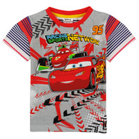 baby clothes racing - 2014 Boys T shirt Kids Clothes Baby Boys Clothing Racing Cars Printing Short Sleeve For Summer Tops Cotton Casual T shirt
