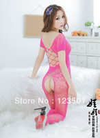 Cheap 2014 New Fashion Sex Dolls,Sexy Fishnet Lingerie Set,Lace Pajamas kimono,Dressing Gowns For Women Free Shipping #SX14009