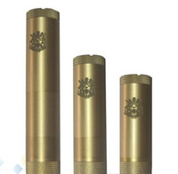 Cheap King V2 Kit Electronic Cigarette Full Mechanical King Mod II Mod Electronic Cigarette King Mod Clone Brass and Stainless steel 2 colors