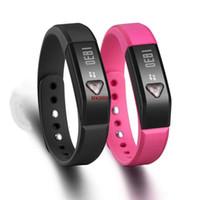 "Cheap Vidonn X5 0.49"" OLED IP67 Bluetooth V4.0 Smart Wristband Bracelet Sports Steps Calori Distance Time Sleep Tracking HK888"