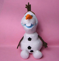 Wholesale 2014 newest Olaf cm Inches Plush Toys Cotton Stuffed Dolls Hot Sale