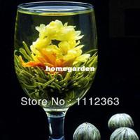 Wholesale styles artistic blooming flowering tea in gift package