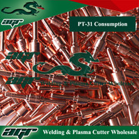 Wholesale New Plasma Torch PT31 consumables for plasma cutter torch PT of cut40 cut30 cut50 CT520 welding machine