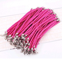 Wholesale PU leather bracelet handmade diy leather cord bracelet national first jewelry restoring ancient ways
